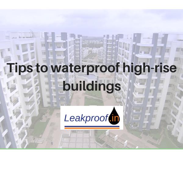 External Waterproofing In Mumbai Leakproof
