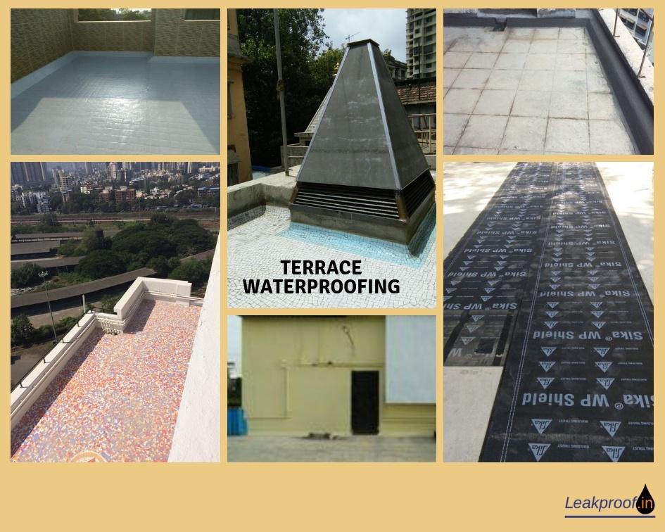 Leakproof - Bathroom Leakage Solutions   Terrace